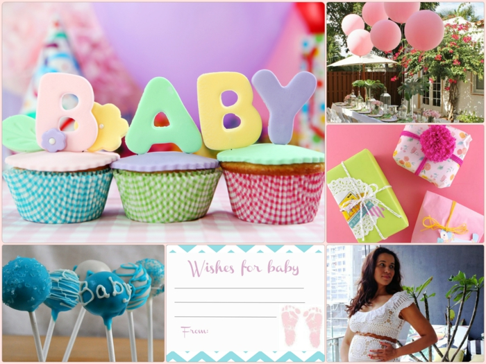 Deko ideen babyparty raum und m beldesign inspiration - Baby shower party ideen ...