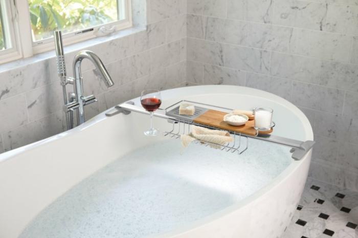 Badewannenablage Deko Badezimmer Ideen ablage badewanne
