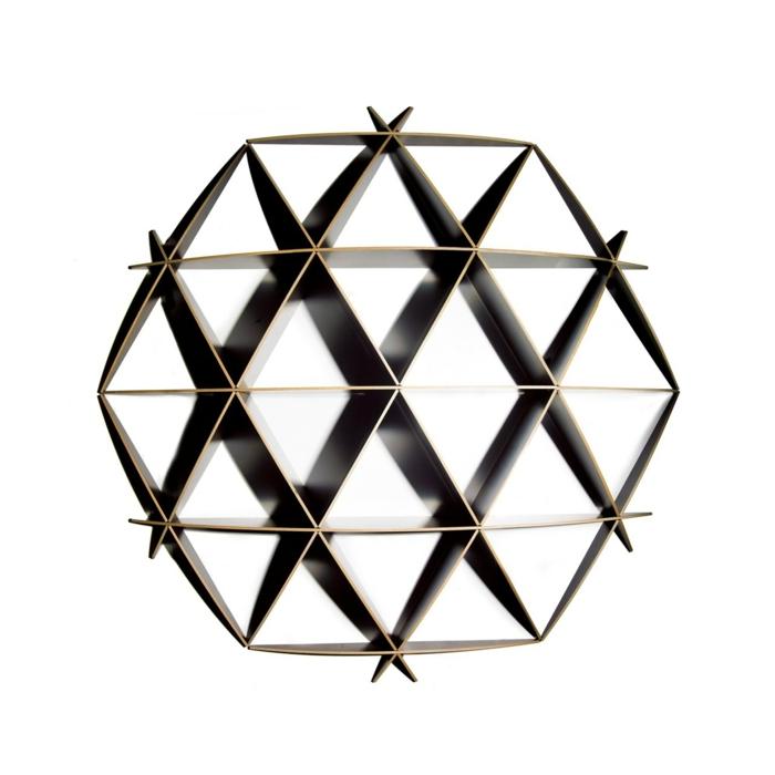 Designer Einrichtung  Sperrplatte dunkel