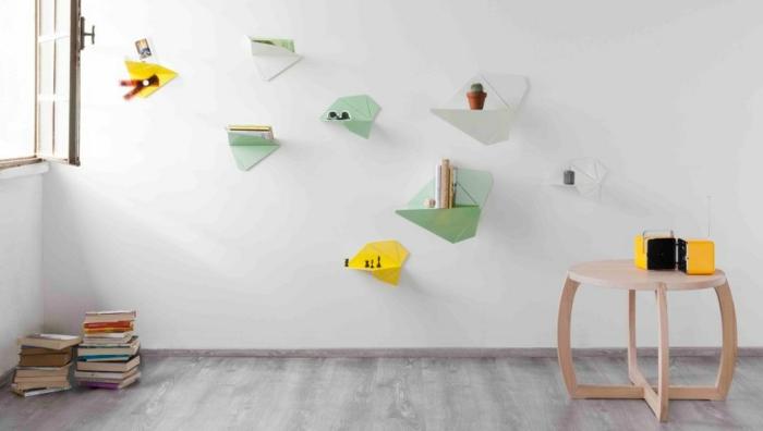 Designer Einrichtung  Wand taschen