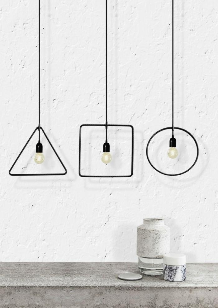 Designer Einrichtung  einfache Geometrie