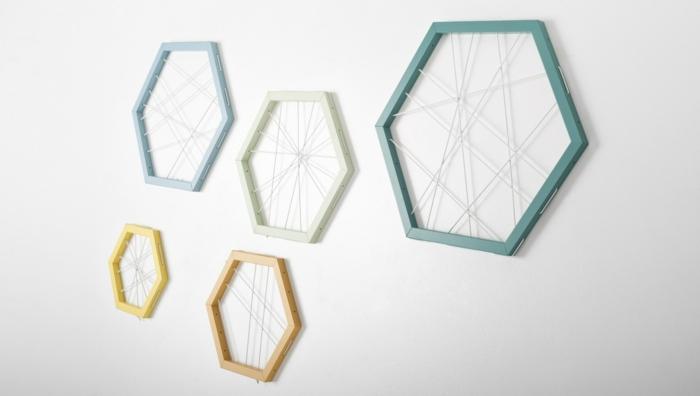 Designer Einrichtung  hexagon fuenfset