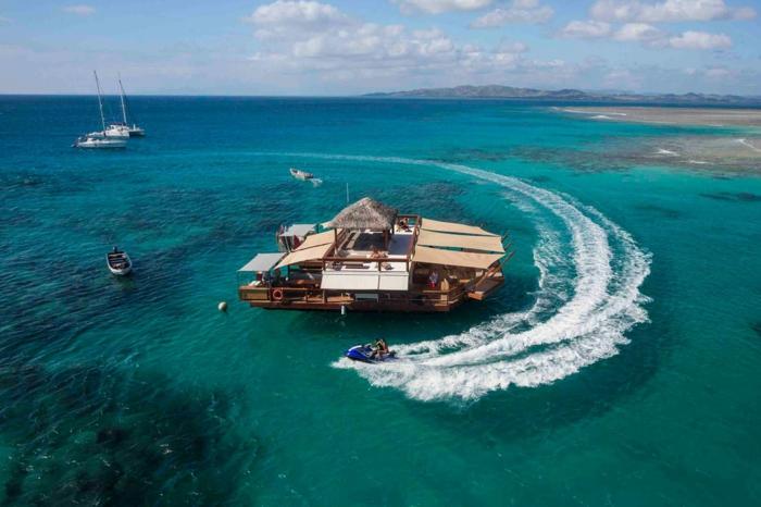 Fidschi Inseln Urlaub cloud 9 besuchen