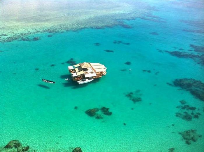 Fidschi Inseln Urlaub cloud 9 restaurant