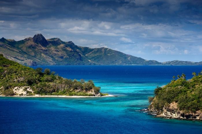 Fidschi Inseln Urlaub natur ozean gebirge