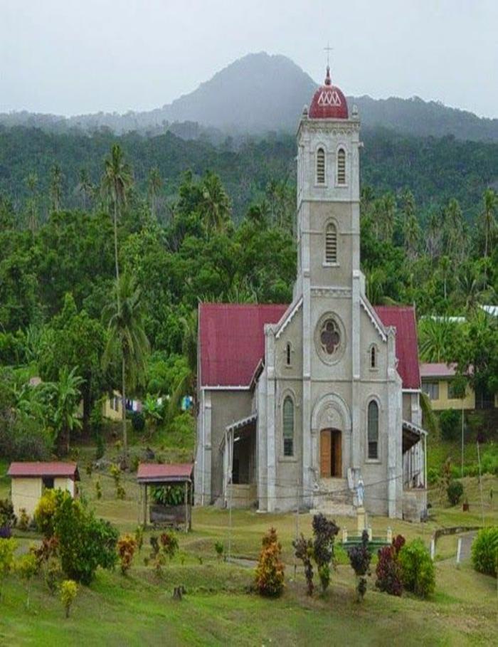 Fidschi Inseln Urlaub taveuni insel kirche religion
