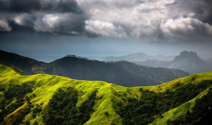 Fidschi Inseln Urlaub viti levu insel gebirge