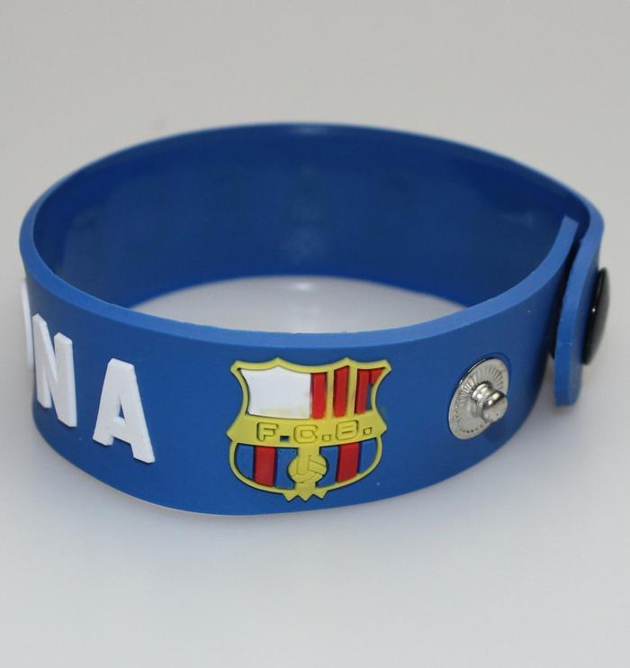 Gummiarmbänder fußball club barcelona