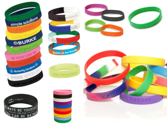 Gummi armbänder trends schmuck bunte armbänder