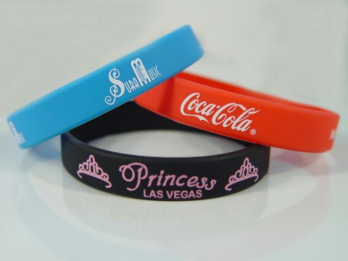 Gummi armbänder verschiedene farben coca cola