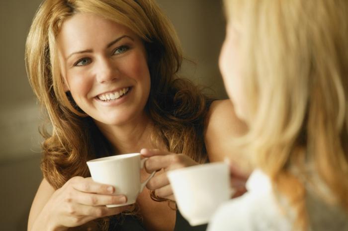 Guten Morgen Kaffee frauen gespräche