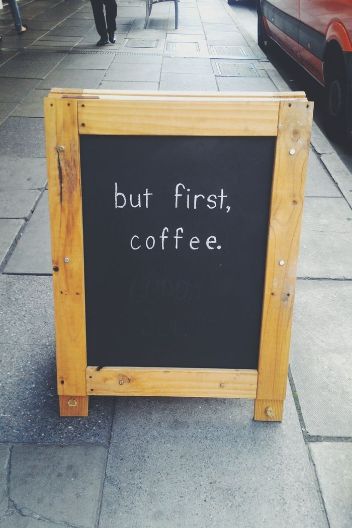 Guten Morgen Kaffee gewohnheit lifestyle