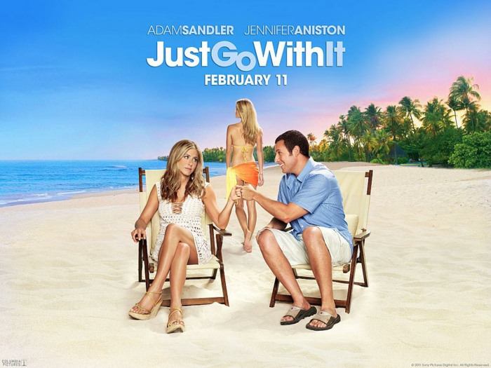 Jennifer Aniston Filme Just Go With It