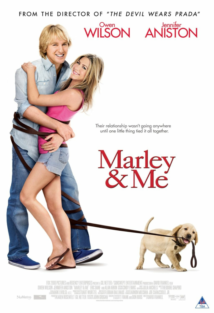 Jennifer Aniston Filme marley and me