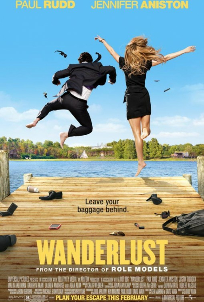 Jennifer Aniston Filme wanderlust cover