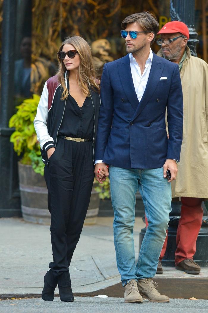 Johannes Huebl und Olivia Palermo styling tipps männer