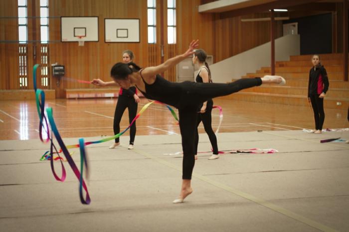 Koordination Sport koordinationstraining künstlerische gymnastik