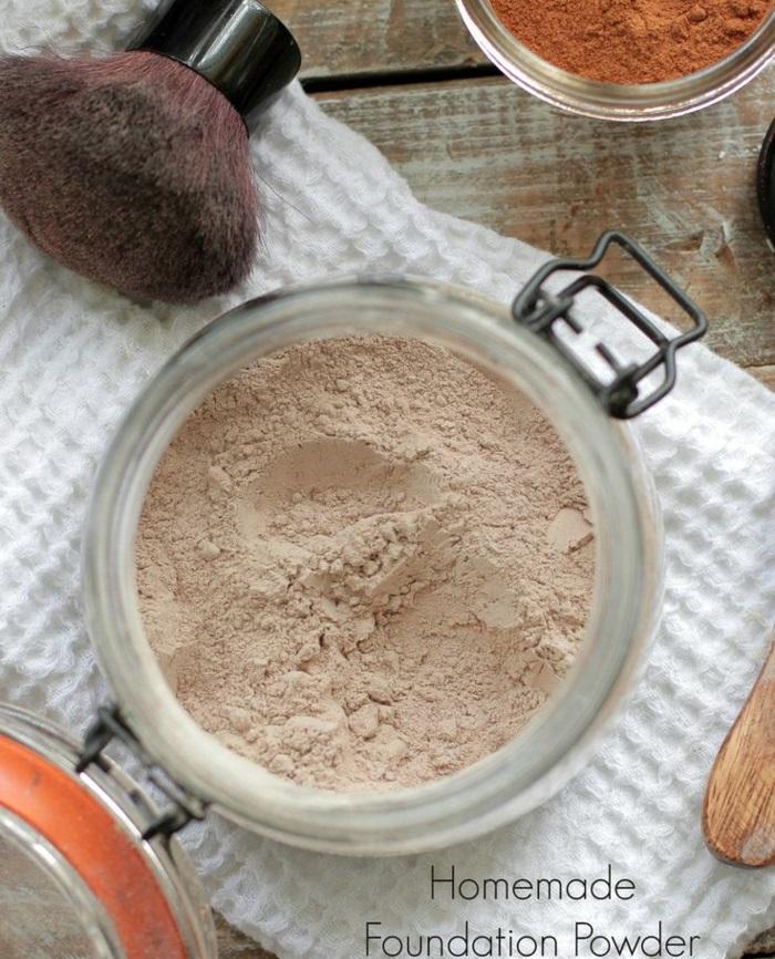 Mineral Puder schöne haut natürliche produkte