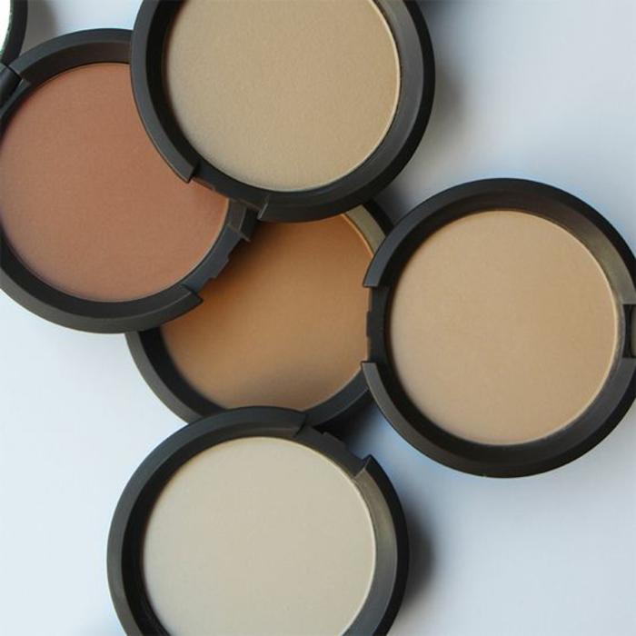 Mineral Puder schöne haut schminke natürlicher effekt
