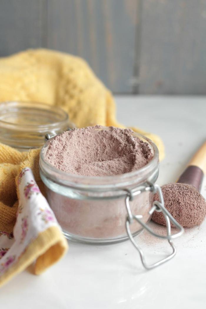 Mineral Puder schöne haut schminkprodukte natürlich