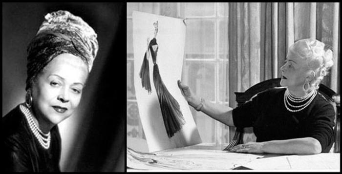 Nina Ricci parfum designerin foto schwarz weiß