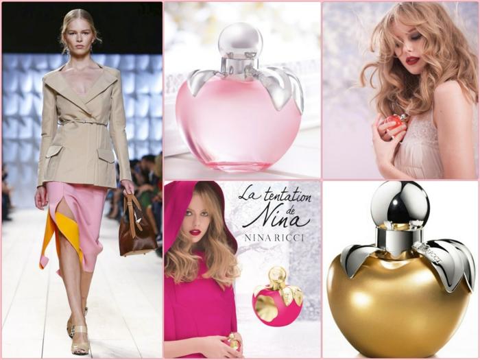 Nina Ricci parfum und designer mode