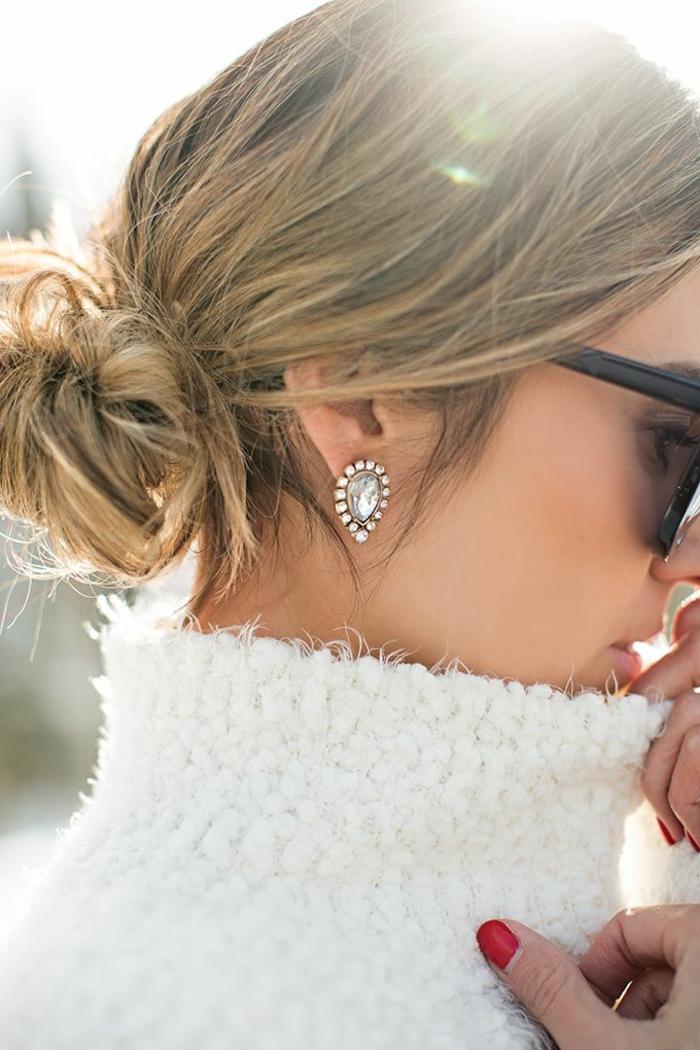 Ohrringe Modeschmuck kleine ohrringe dezenter schmuck