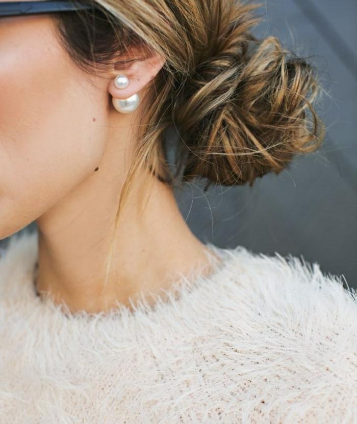 Ohrringe Modeschmuck kleine perlen ohrringe