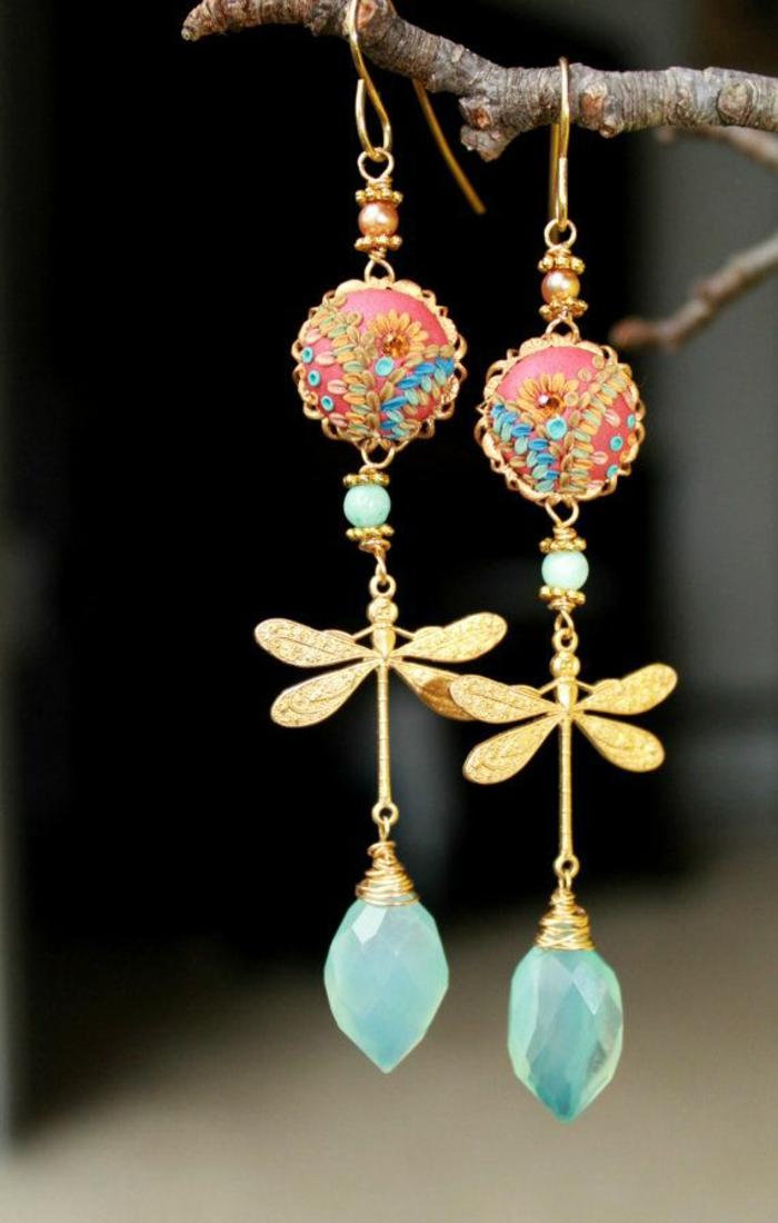 Modeschmuck Ohrringe lange ohrringe runde gesichter