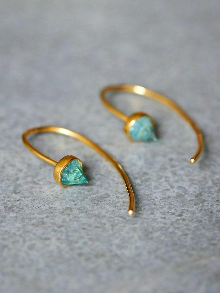 Modeschmuck Ohrringe ohrring form gesicht form