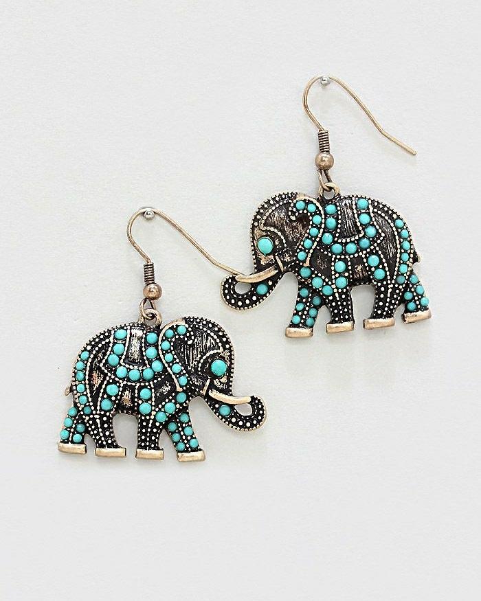 Elefanten ohrringe