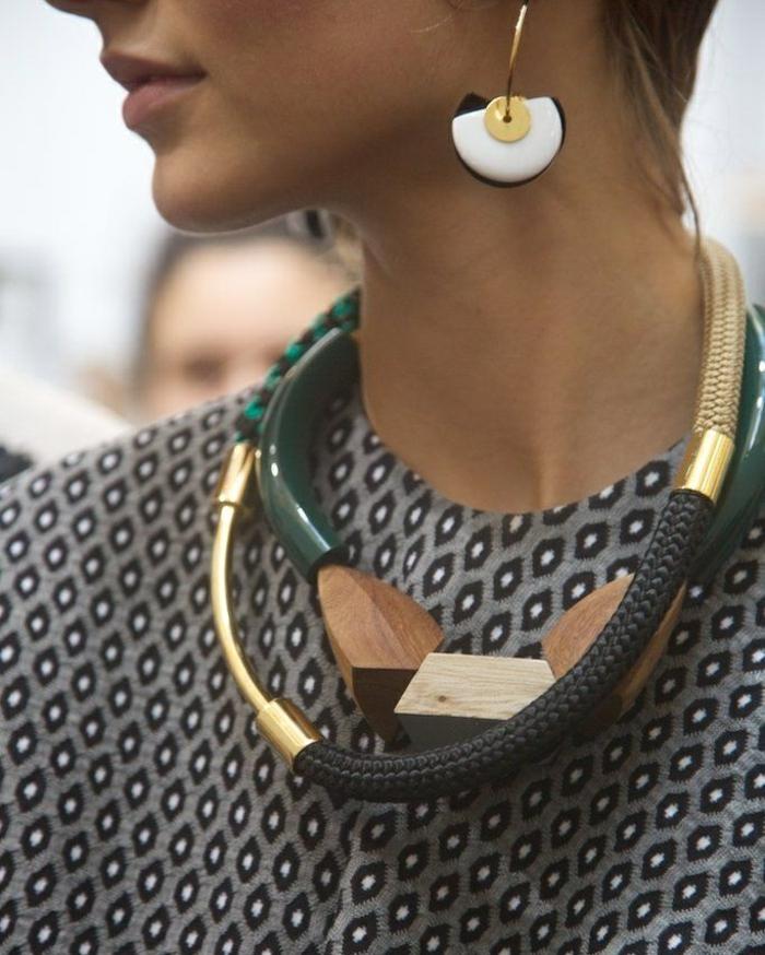 Ohrringe Modeschmuck schmuck design kreativ und groß ketten