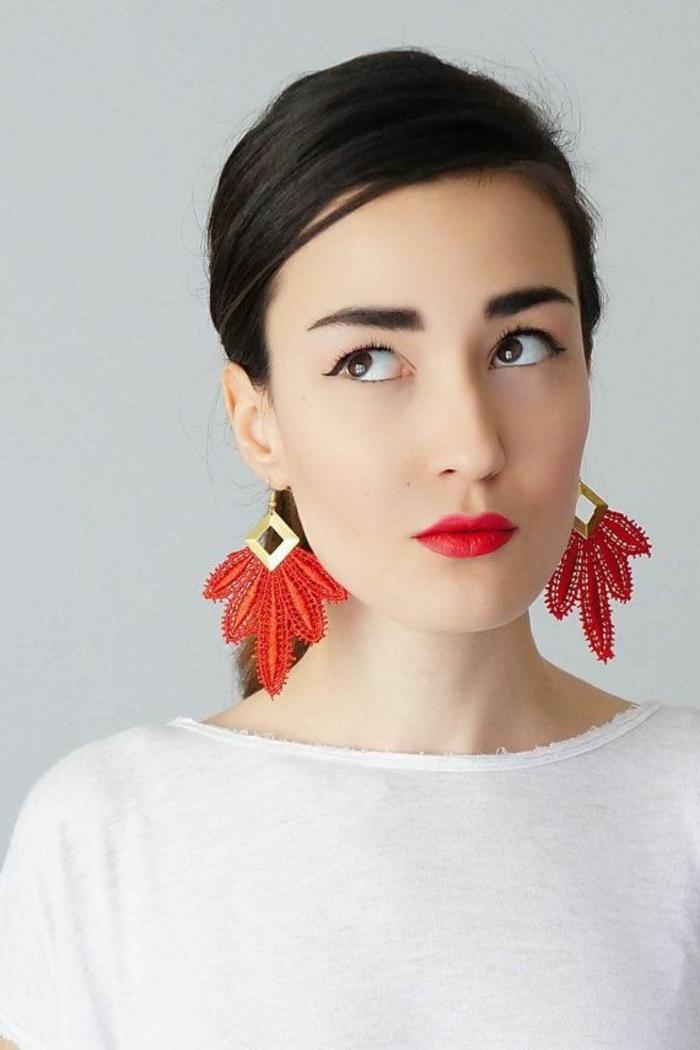 Modeschmuck Ohrringe schmuck design und gesichtsform
