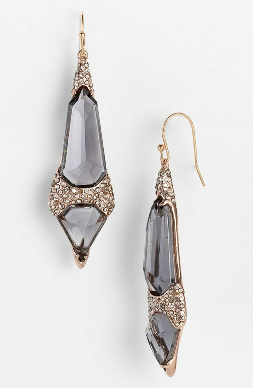 Modeschmuck Ohrringe schmuck lange ohrringe runde gesichter