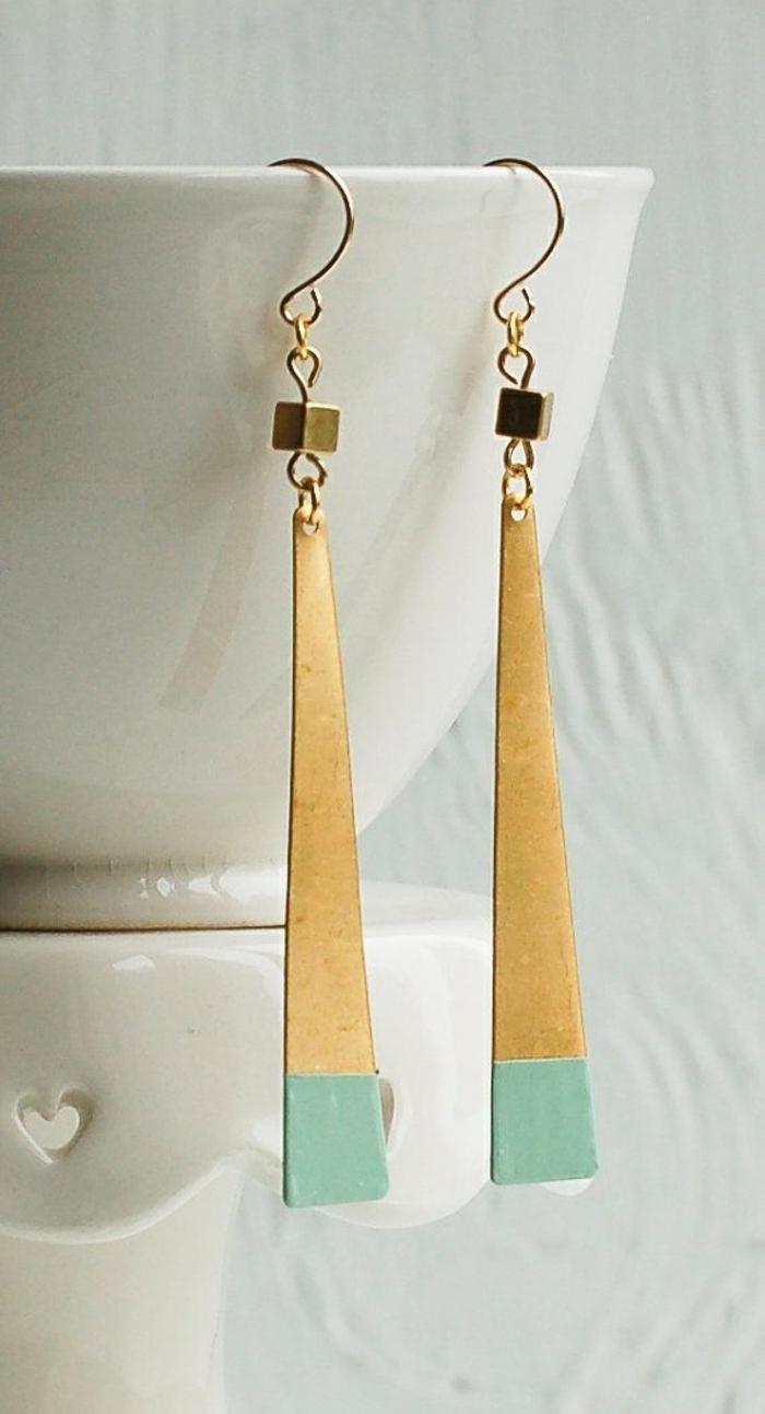 Modeschmuck Ohrringe schmuck lange ohrringe