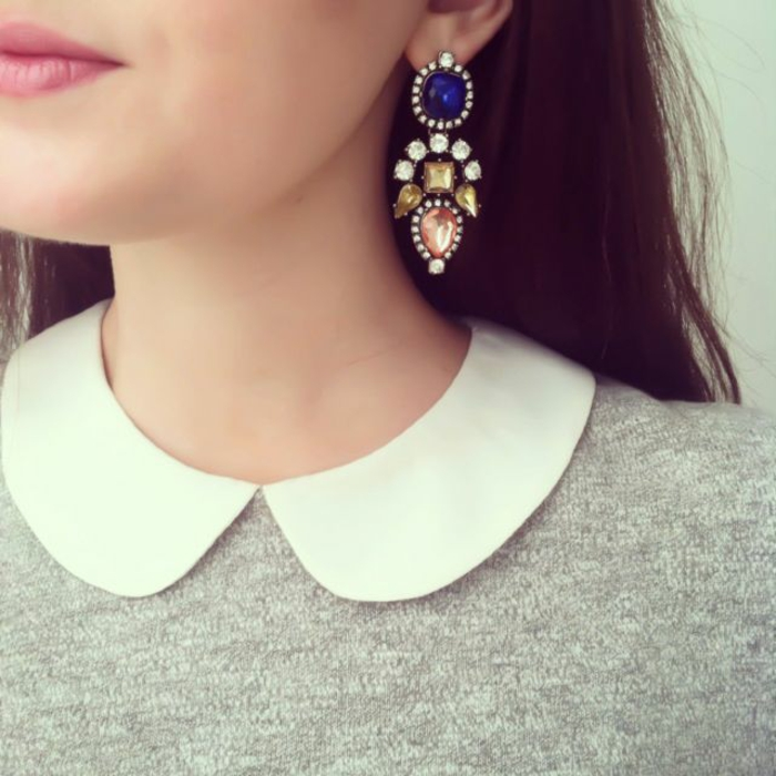 Modeschmuck Ohrringe schmuck und gesichtsform