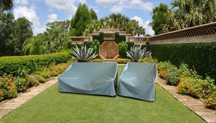 Schutz für Gartenmöbel Plane Sessel