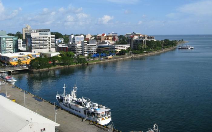 Suva hauptstadt fiji inseln Fidschi Inseln Urlaub