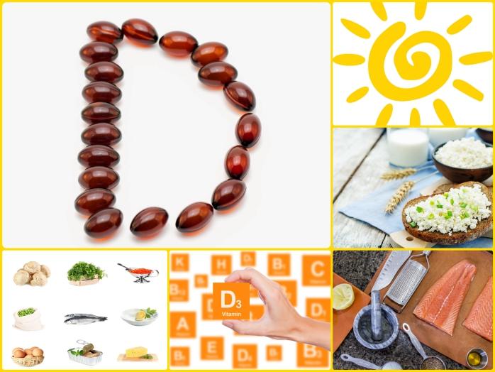 Vitamin D Mangel sonnenschein gesunde ernährung