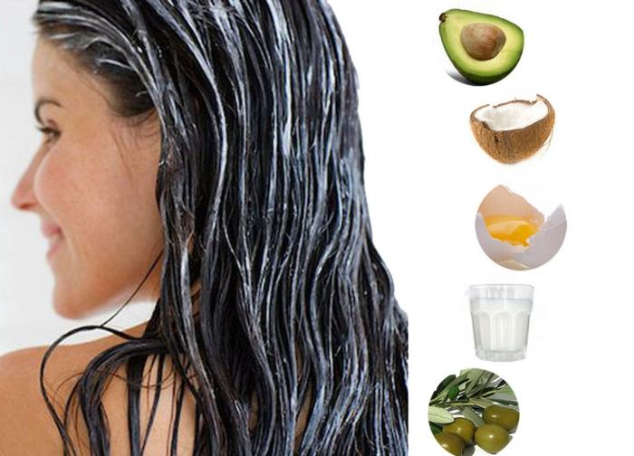 Vitamine für die Haare natürliche haarpflege