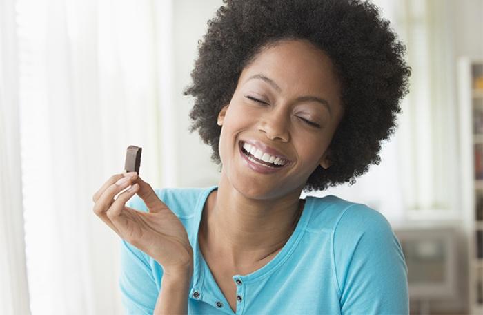 abnehmen mit schokolade glücklich machen