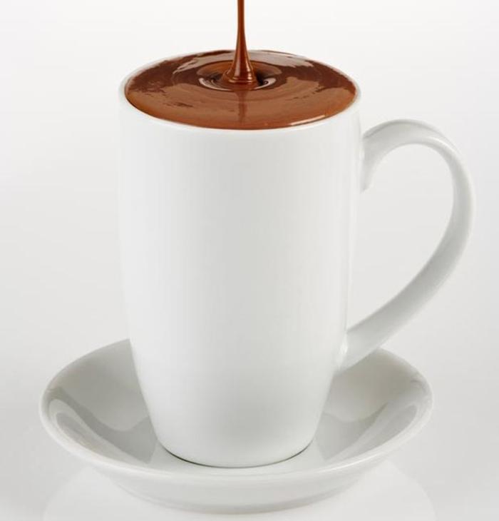 abnehmen mit schokolade heiß trinken