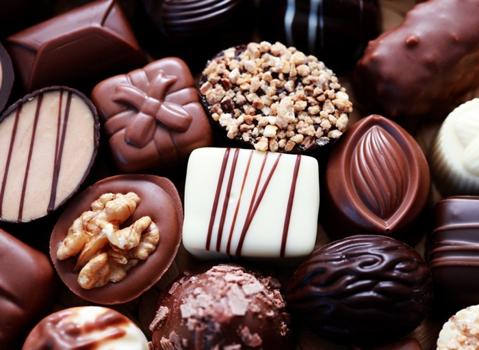 abnehmen mit schokolade pralinen vielfalt