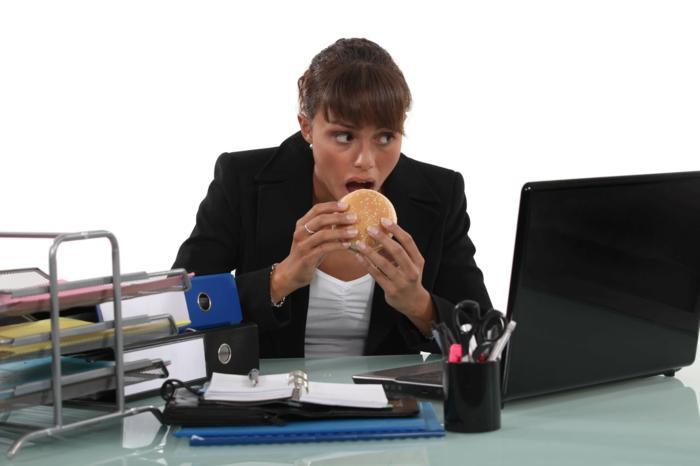 abnehmen tipps am arbeitsplatz essen