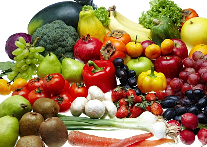 antioxidationsmittel gesunde ernährung gemüse obst