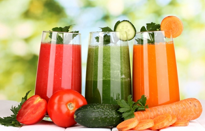 antioxidationsmittel gesunde gemüse smoothies