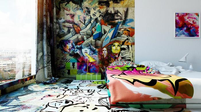 außergewöhnliche hotels graffiti kunst ausgefallen