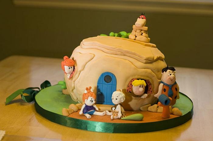 Flintstone Bam Bam Cake