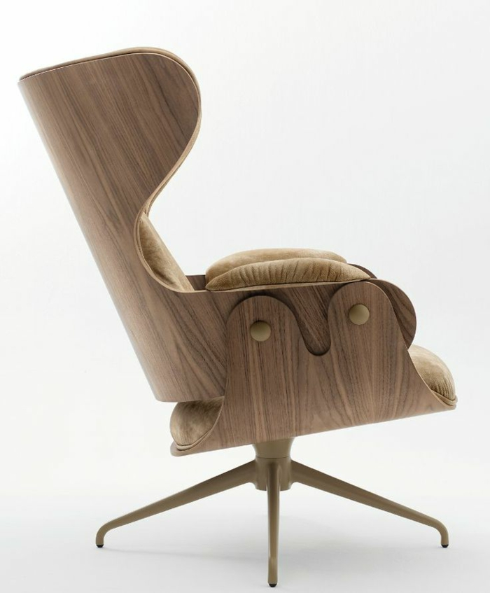 ausgefallene möbel designer Jaime Hayon designer sessel holzfarbe