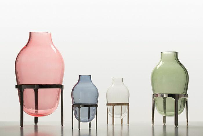 ausgefallene möbel designer Jaime Hayon glas vasen farbig